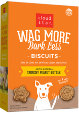 Cloud Star Wag More Peanut Butter Biscuit - 16oz