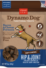 Cloud Star Dynamo Dog Hip & Joint Bacon - 5oz
