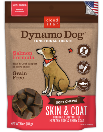 Cloud Star Dynamo Dog Skin & Coat - 5oz