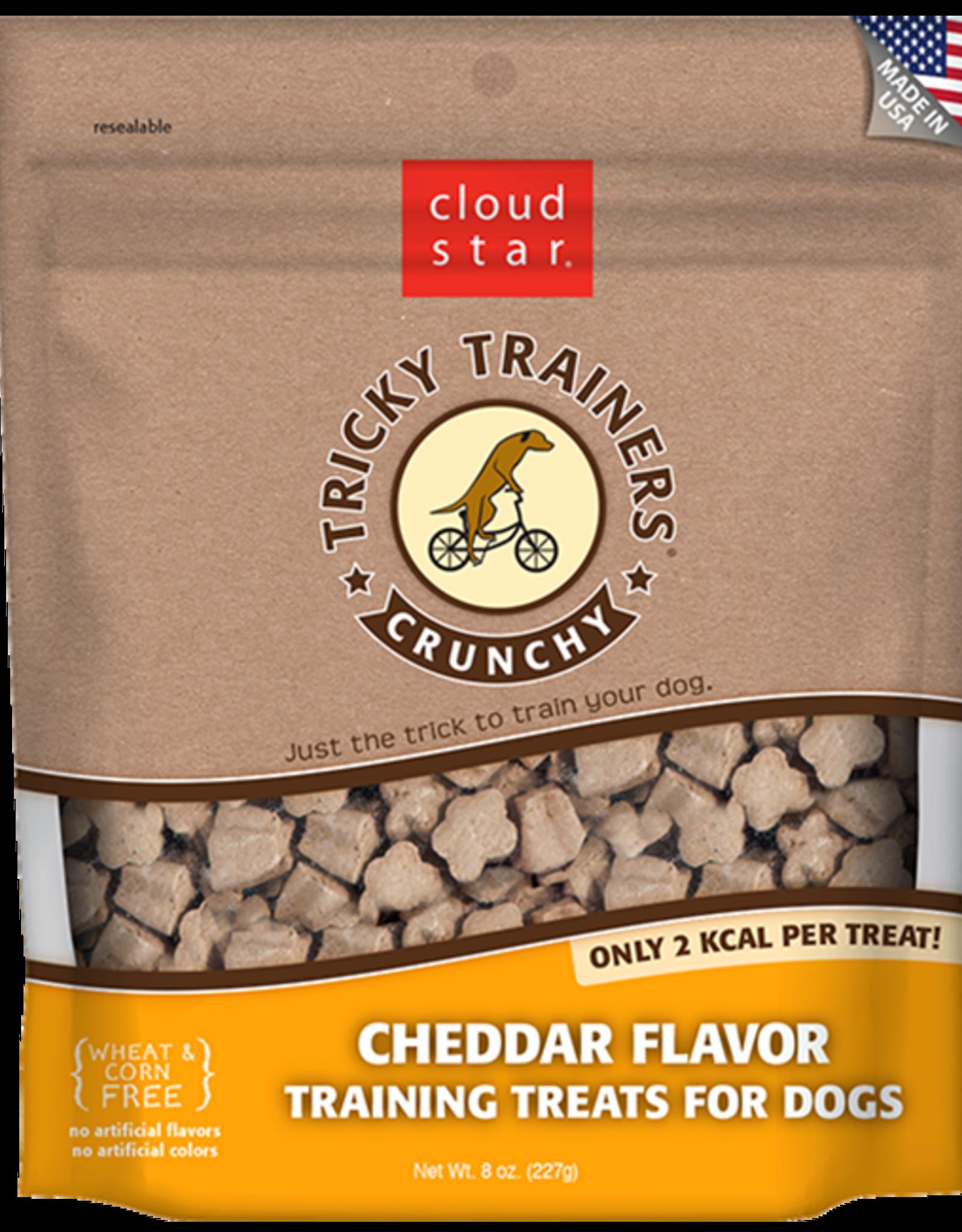 Cloud Star Tricky Trainer Crunchy Cheddar - 8oz