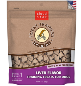 Cloud Star Tricky Trainer Crunchy Liver - 8oz