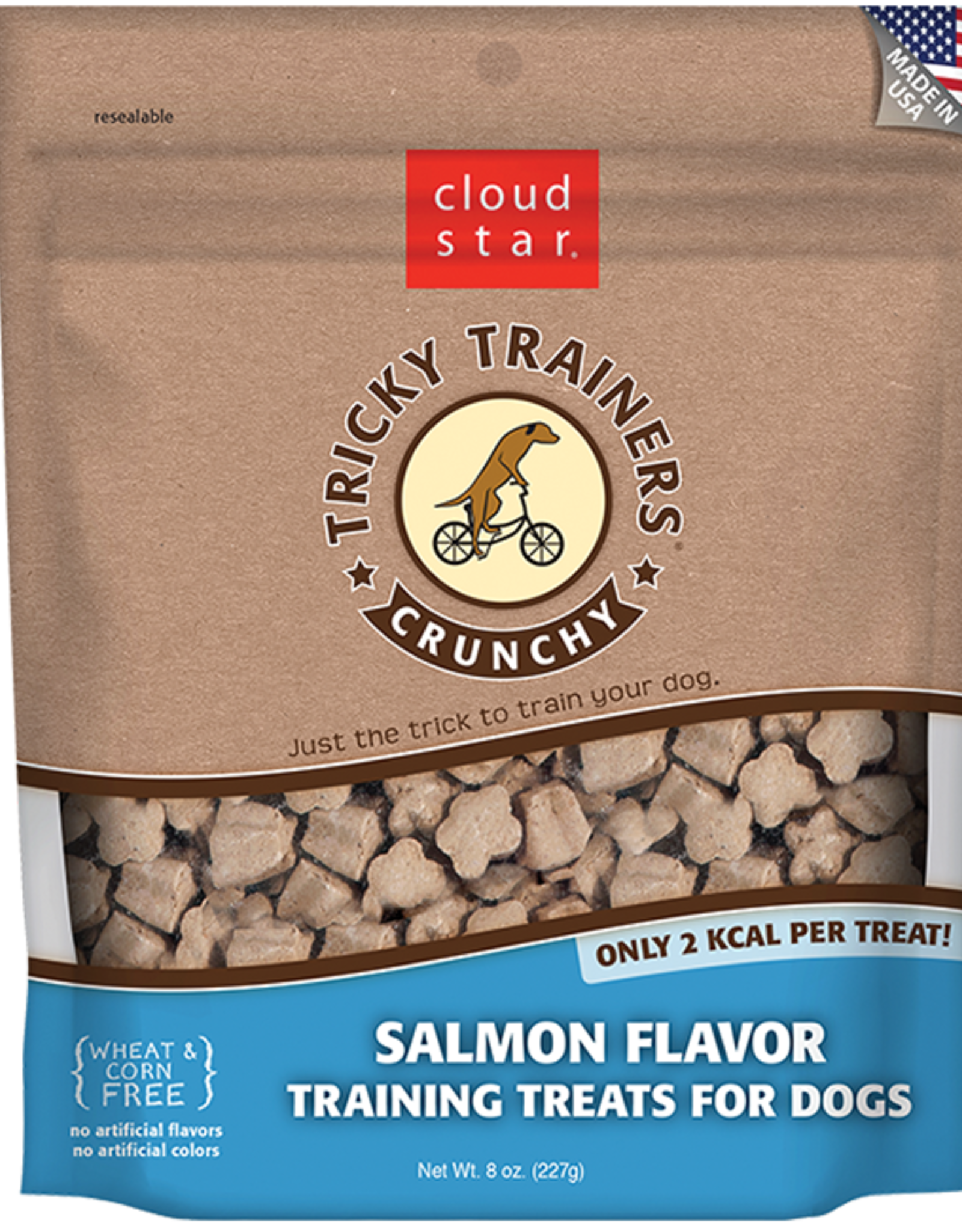 Cloud Star Tricky Trainer Crunchy Salmon - 8oz