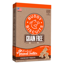 Buddy Biscuits Teeny Treats Grain-Free Peanut Butter - 8oz