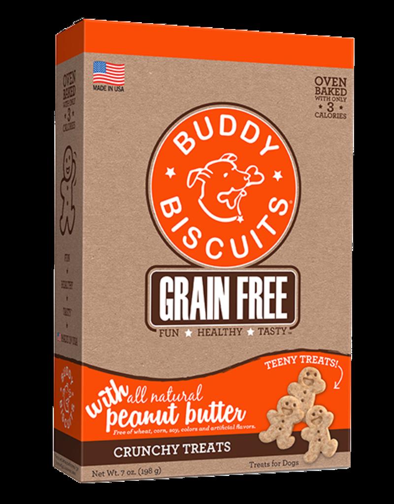 Buddy Biscuits Teeny Treats Grain-Free Peanut Butter - 8oz
