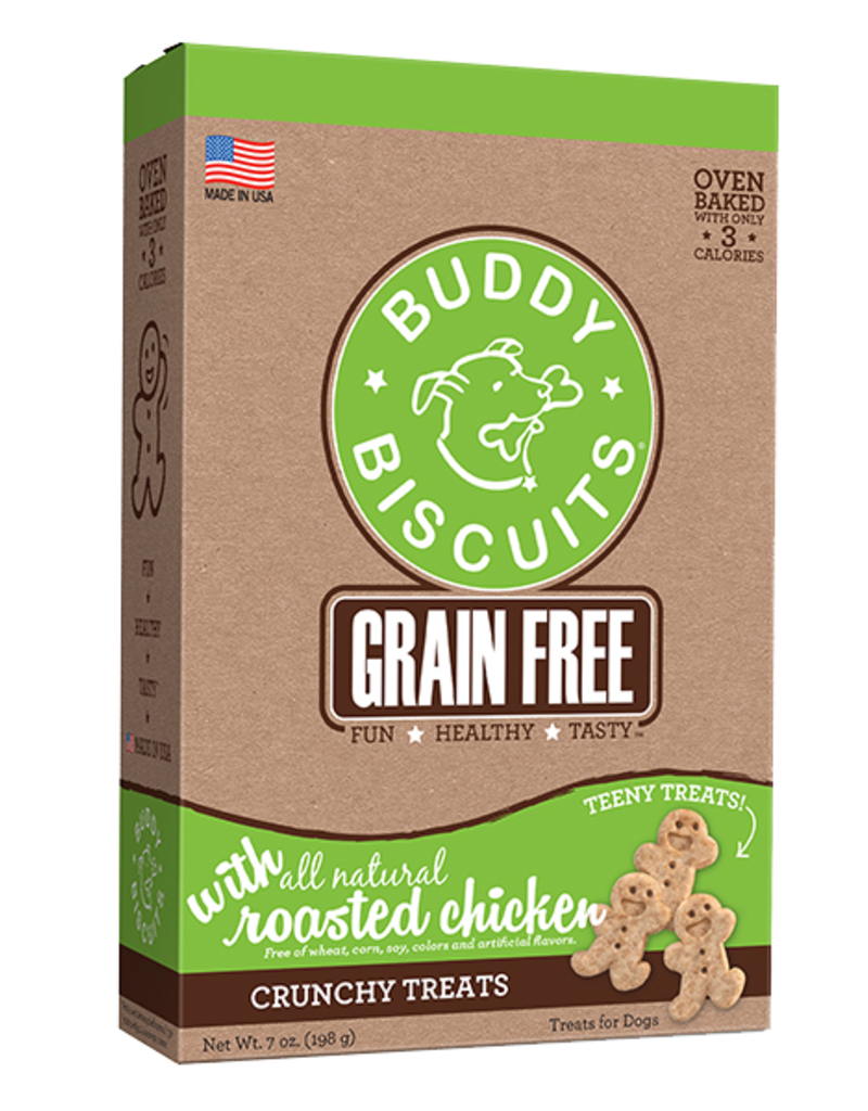 Buddy Biscuits Canine Teeny Treats Grain-Free Chicken