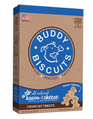 Buddy Biscuits Teeny Treats Bacon & Cheese - 8oz