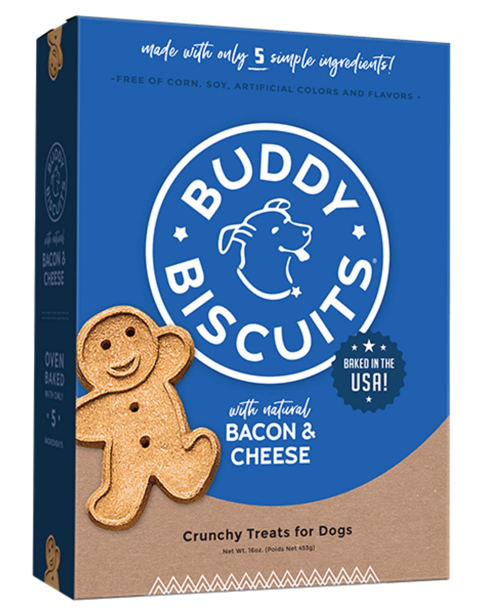 Buddy Biscuits Bacon & Cheese Biscuit - 16oz