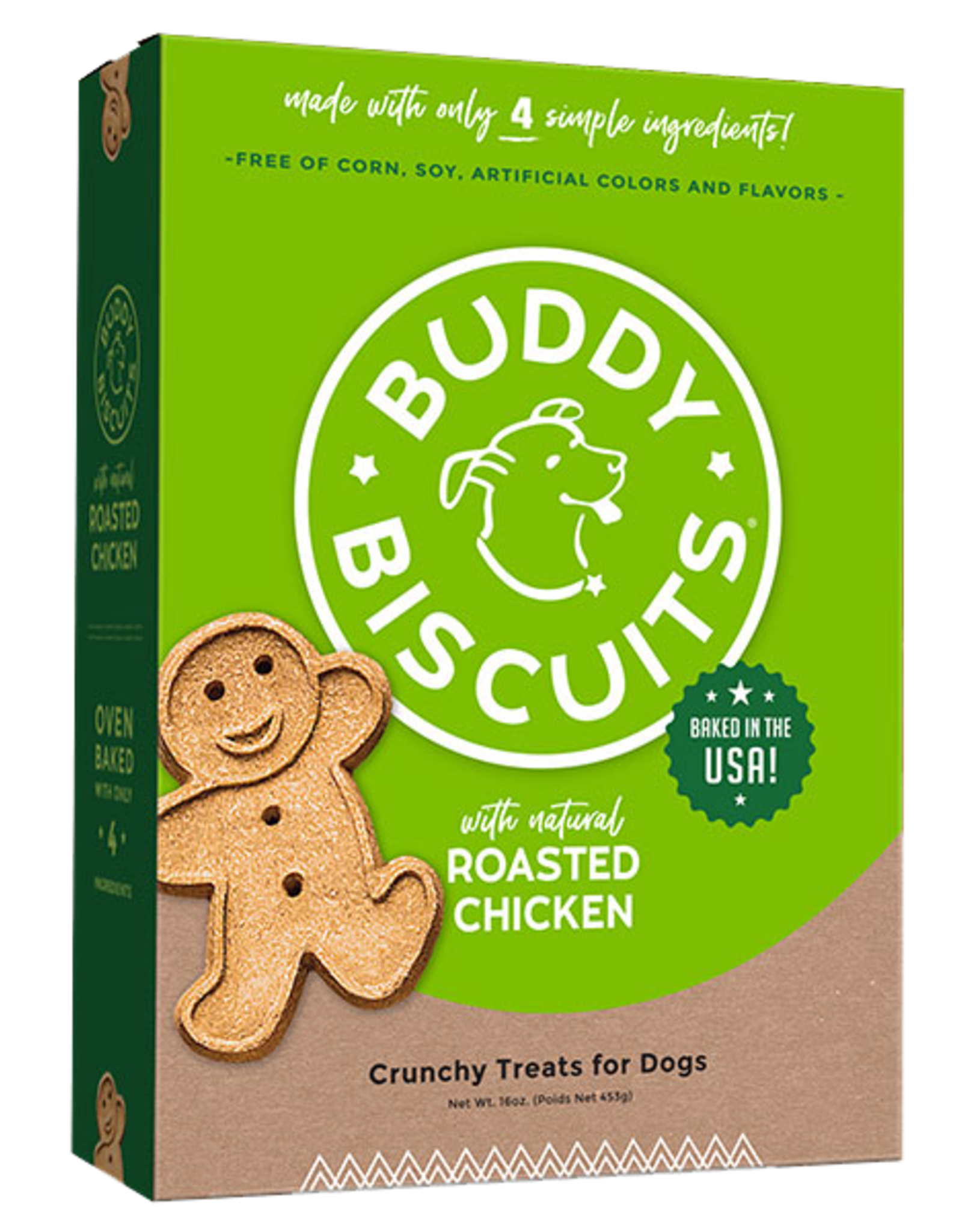 Buddy Biscuits Roasted Chicken Biscuit - 3.5lb