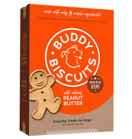 Buddy Biscuits Peanut Butter Biscuits - 16oz