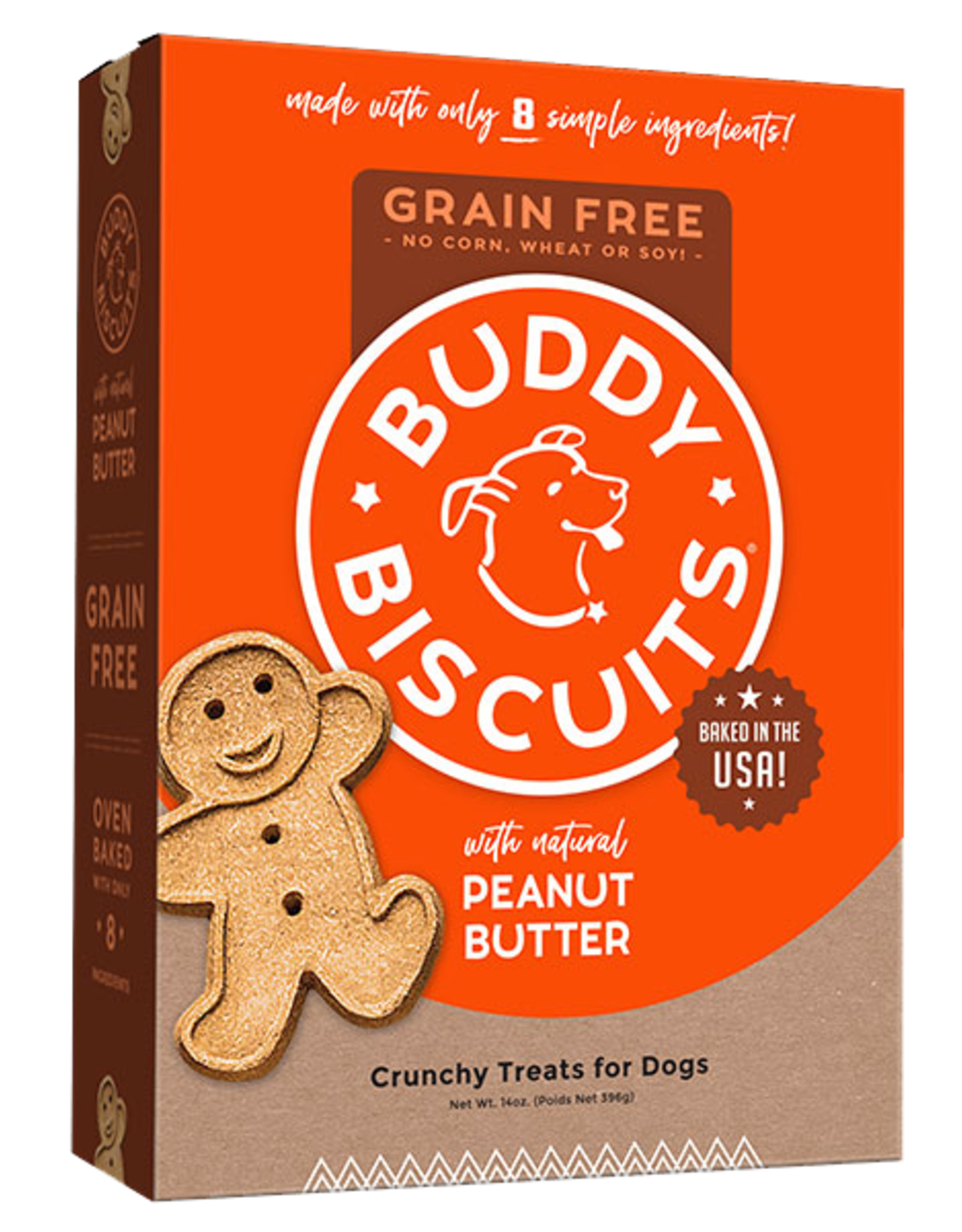 Buddy Biscuits Grain-Free Peanut Butter - 14oz