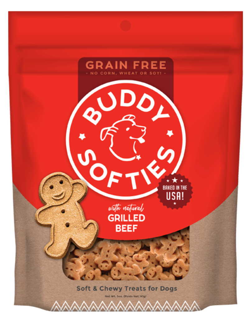 Buddy Biscuits Canine Grain-Free Beef Softies