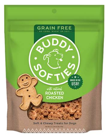 Buddy Biscuits Canine Grain-Free Chicken Softies