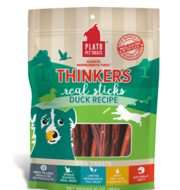 Plato Pet Treats Thinkers Duck - 18oz
