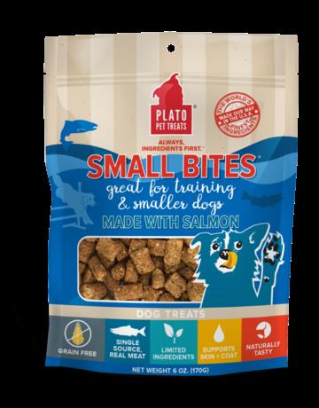 Plato Pet Treats Canine Small Bites Salmon