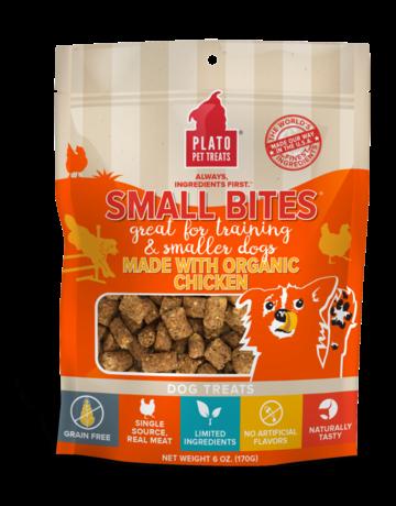 Plato Pet Treats Canine Small Bites Chicken