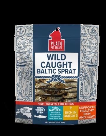 Plato Pet Treats Wild Caught Baltic Sprat - 3oz