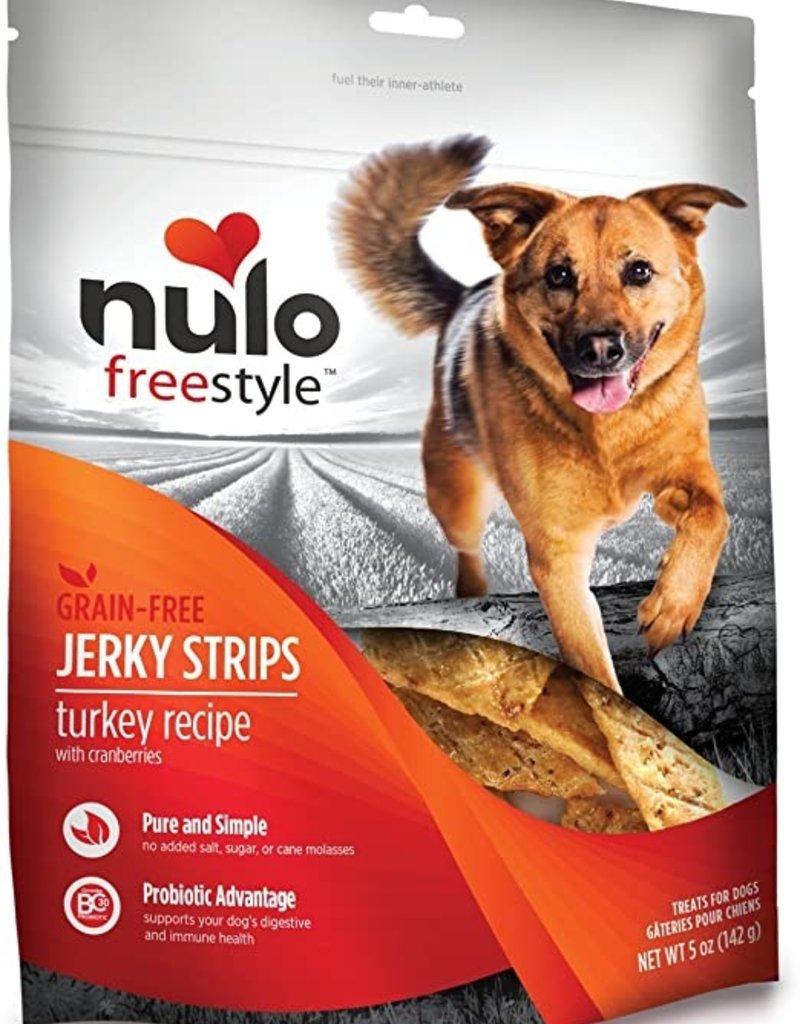 Nulo Canine Turkey Jerky Strips
