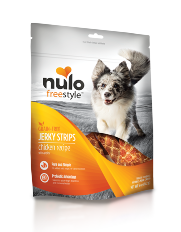 Nulo Chicken Jerky Strips - 5oz