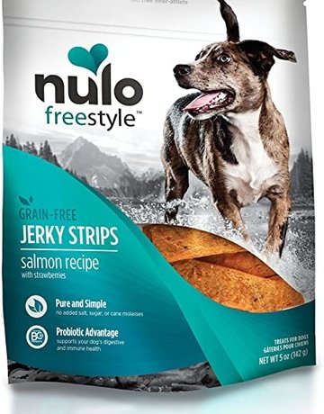 Nulo Canine Salmon Jerky Strips