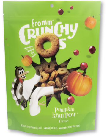 Fromm Family Pet Foods Canine Crunchy-Os Pumpkin