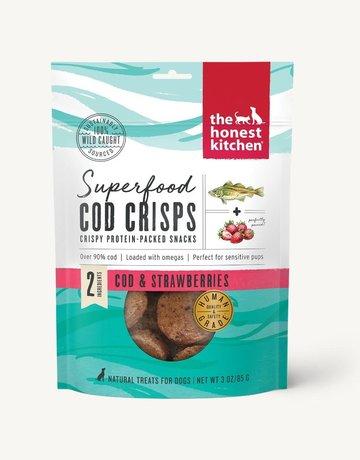 The Honest Kitchen Cod & Strawberry Crisps - 3oz