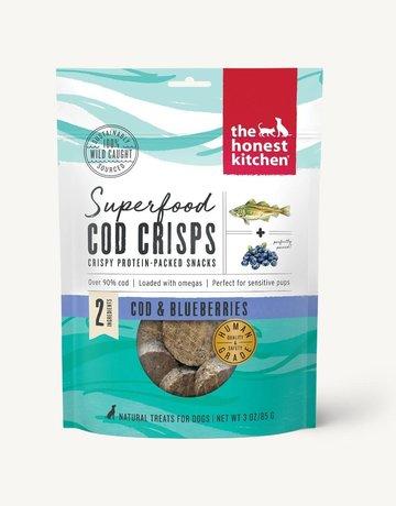 The Honest Kitchen Canine Cod & Blueberry Crisps