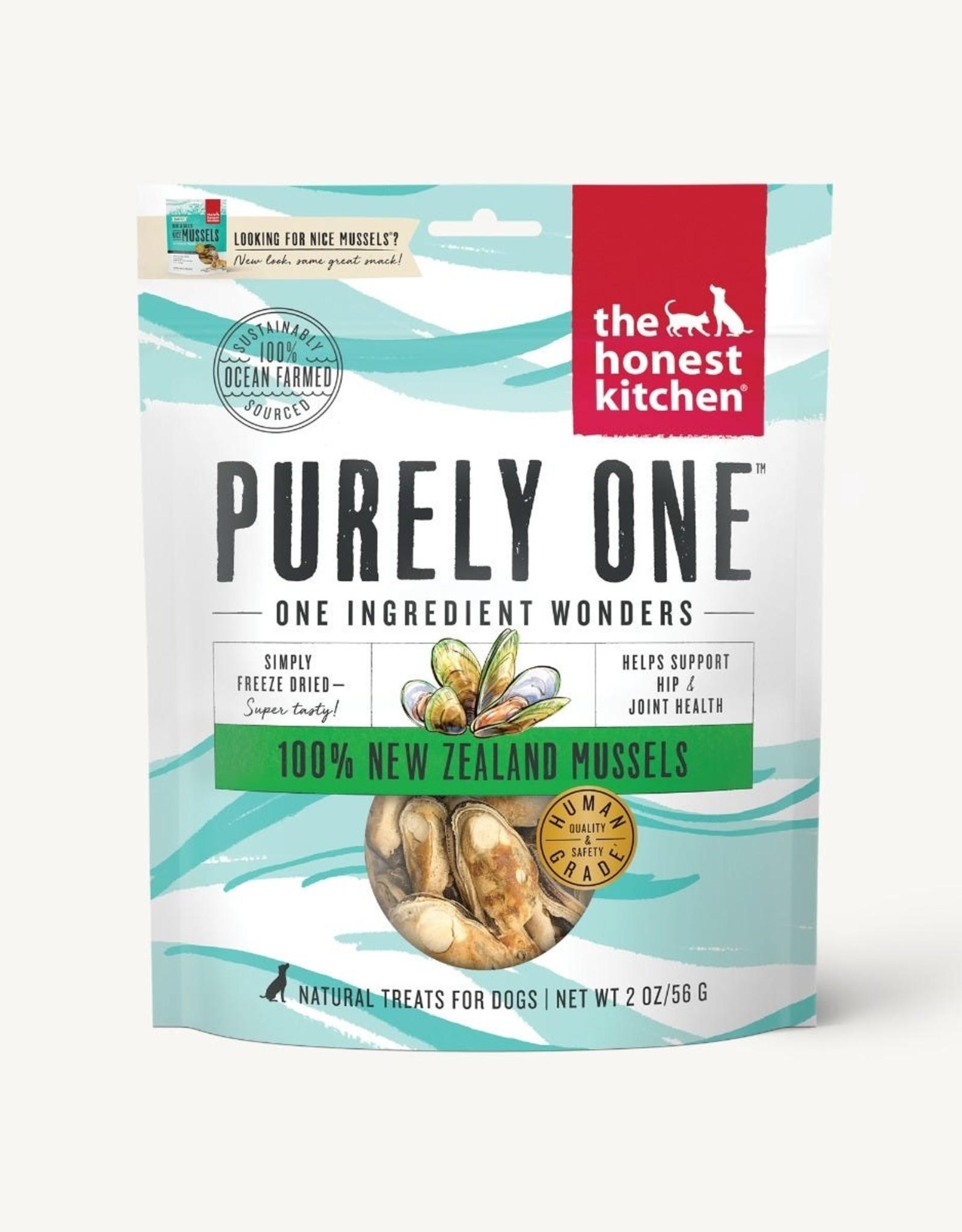 The Honest Kitchen New Zealand Mussels - 2oz