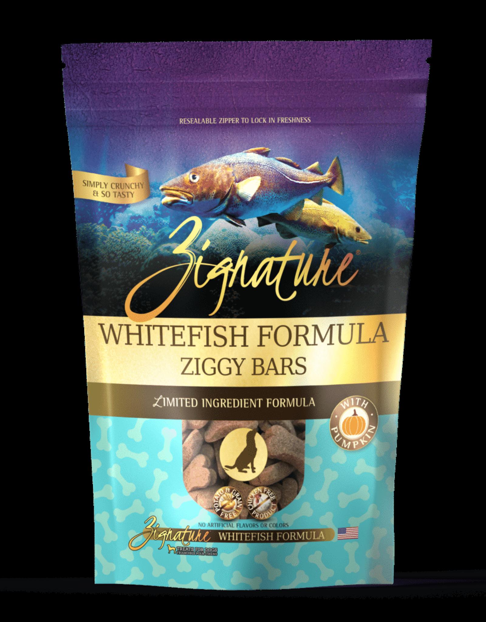 Zignature Ziggy Bar Whitefish Formula - 12oz