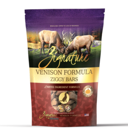 Zignature Ziggy Bar Venison Formula - 12oz