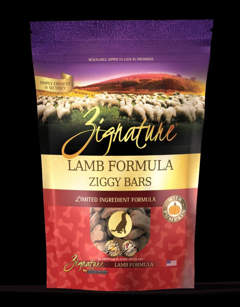 Zignature Canine Ziggy Bar Lamb Formula