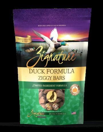 Zignature Canine Ziggy Bar Duck Formula