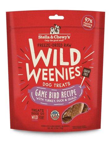 Stella & Chewy's Canine Wild Weenies Game Bird Recipe