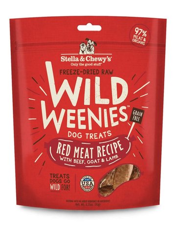 Stella & Chewy's Canine Wild Weenies Red Meat Recipe