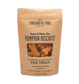 Portland Pet Food Company Grain-Free Pumpkin Biscuit - 5oz