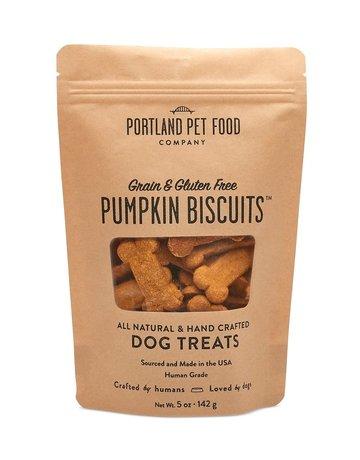 Portland Pet Food Company Grain-Free Pumpkin Biscuit - 5oz