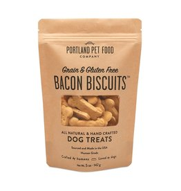 Portland Pet Food Company Grain-Free Bacon Biscuit - 5oz