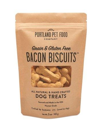 Portland Pet Food Company Grain-Free Bacon Biscuit - 5oz
