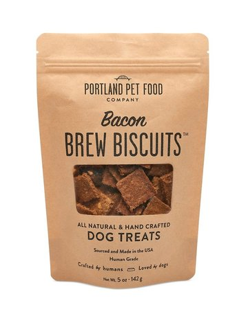 Portland Pet Food Company Bacon Brew Biscuit - 5oz