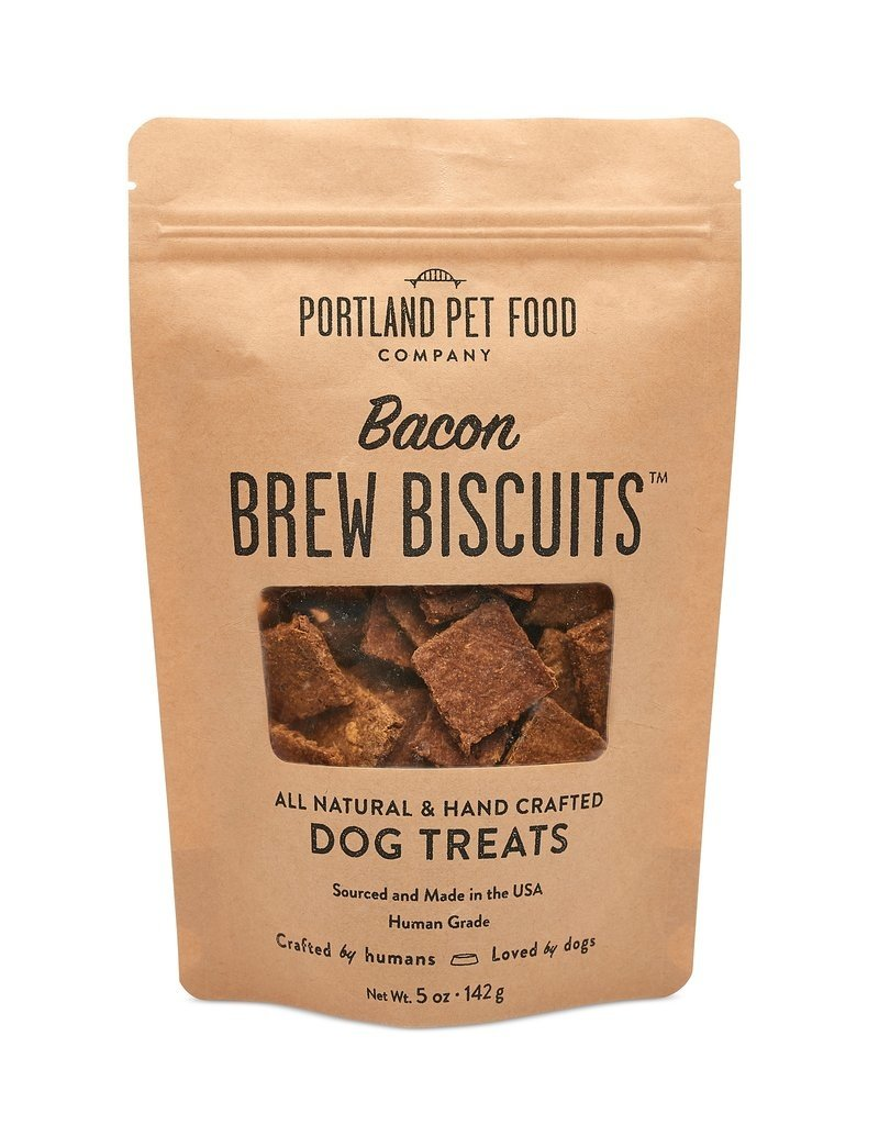 Portland Pet Food Company Canine Bacon Brew Biscuit