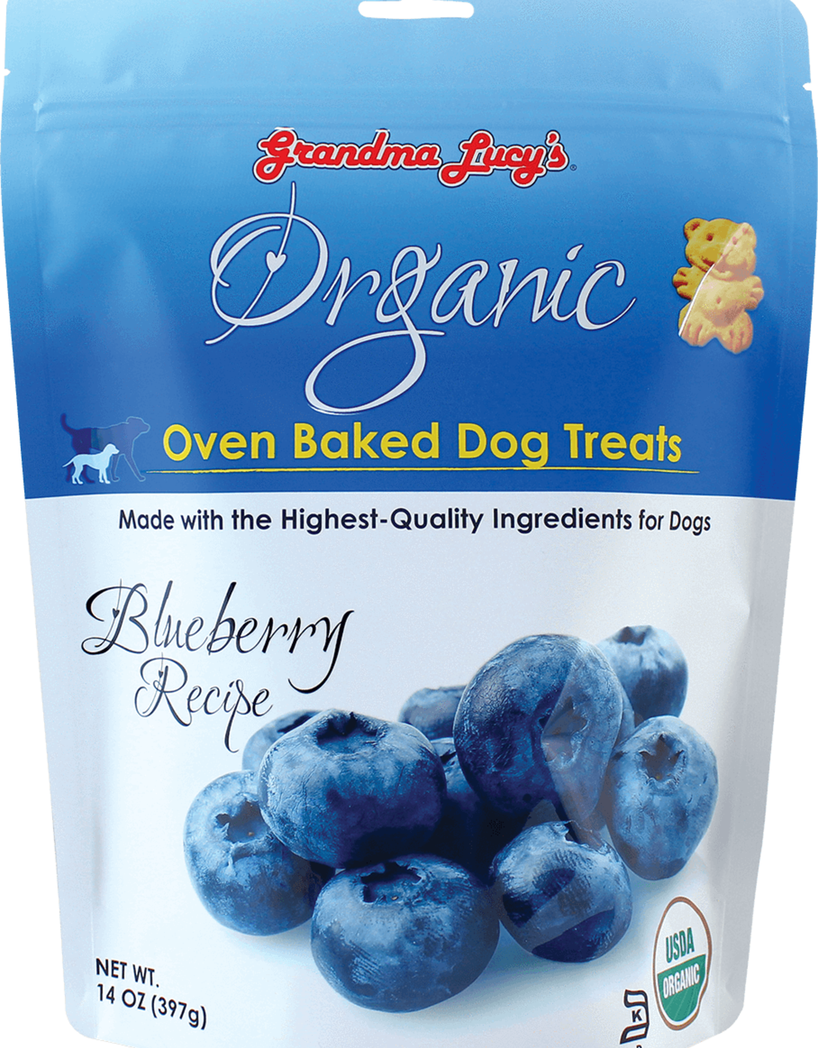 Grandma Lucy's Organic Blueberry Biscuit - 14oz