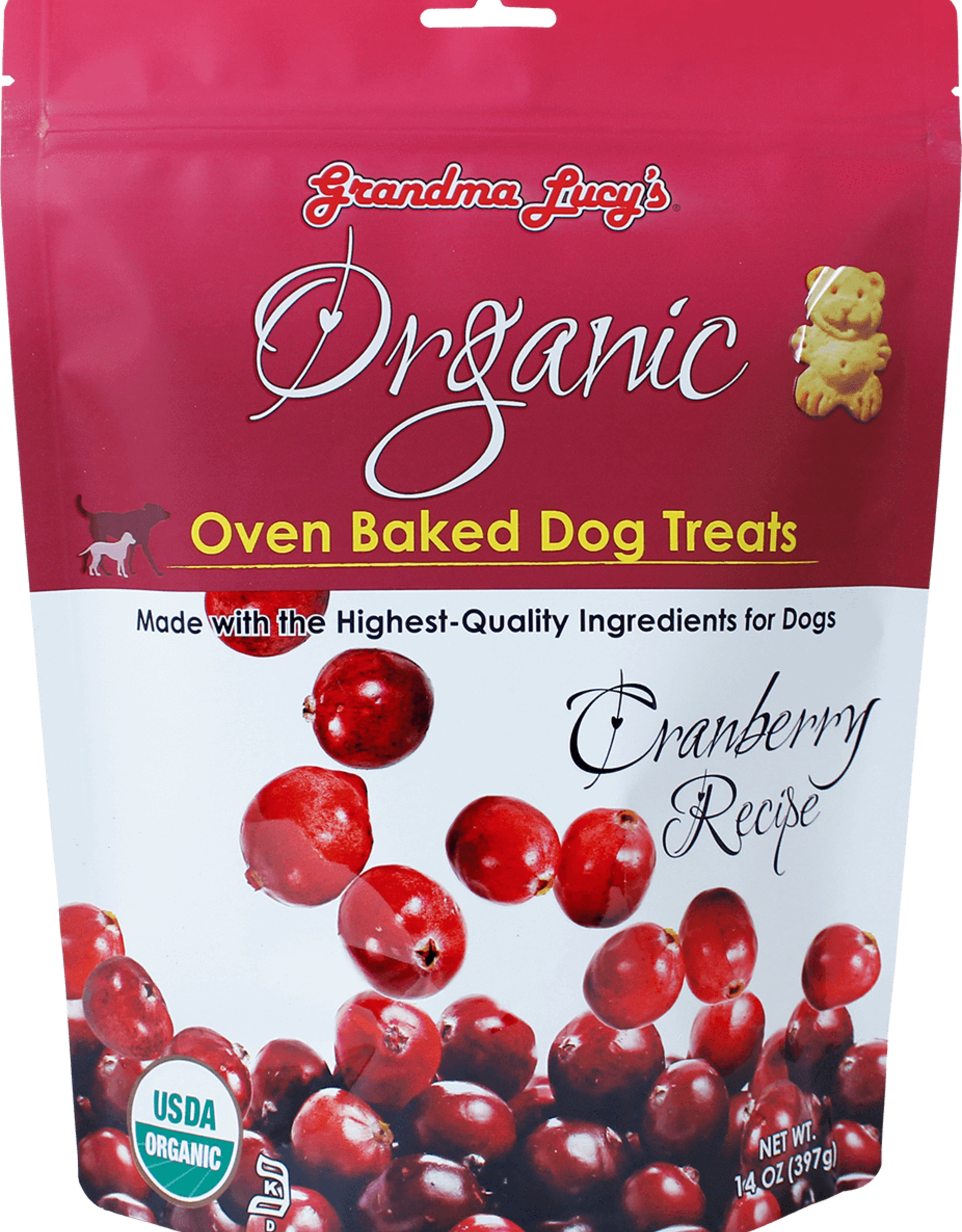 Grandma Lucy's Organic Cranberry Biscuit - 14oz