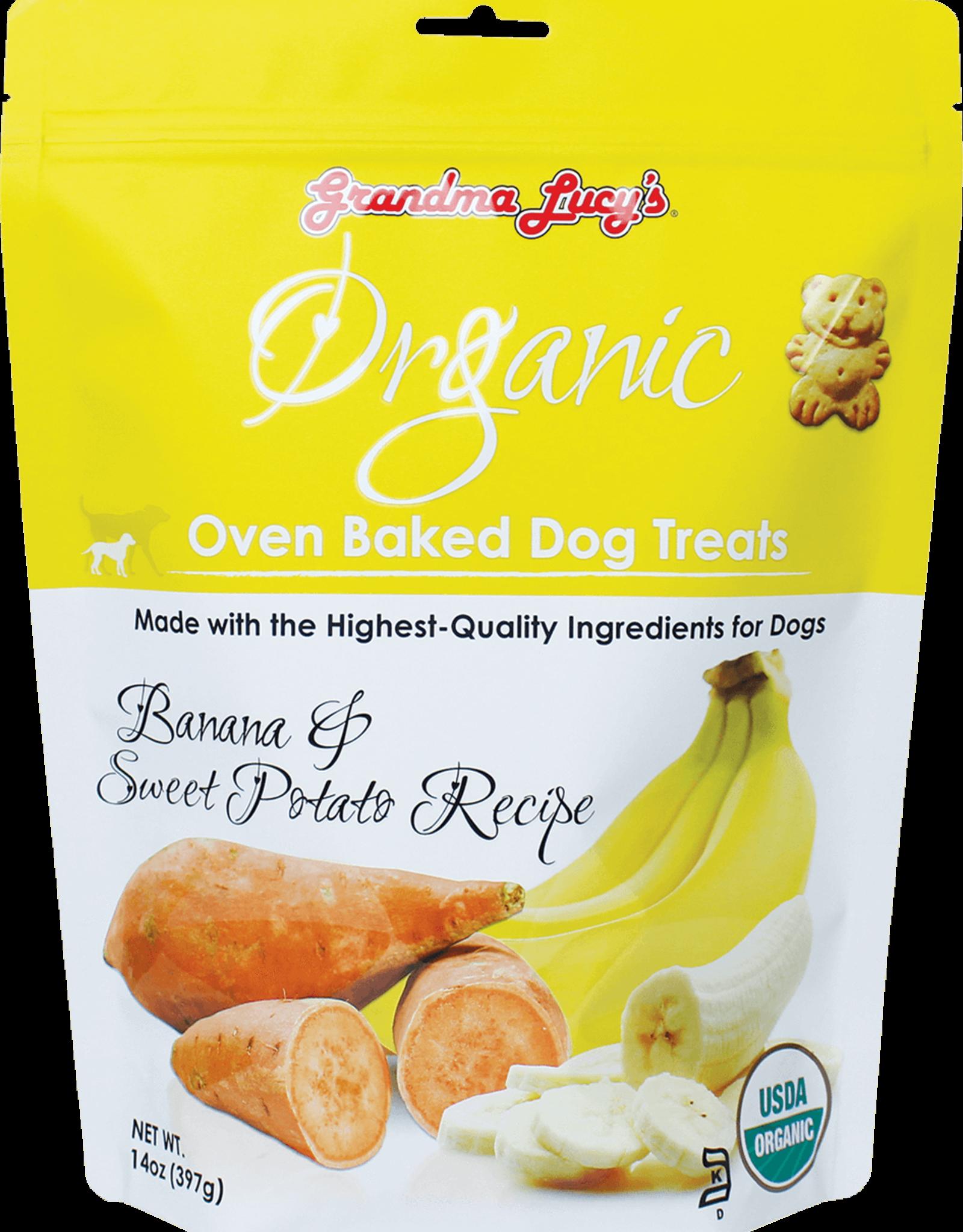 Grandma Lucy's Organic Banana & Sweet Potato Biscuit - 14oz