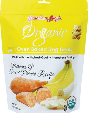 Grandma Lucy's Canine Organic Banana & Sweet Potato Biscuit