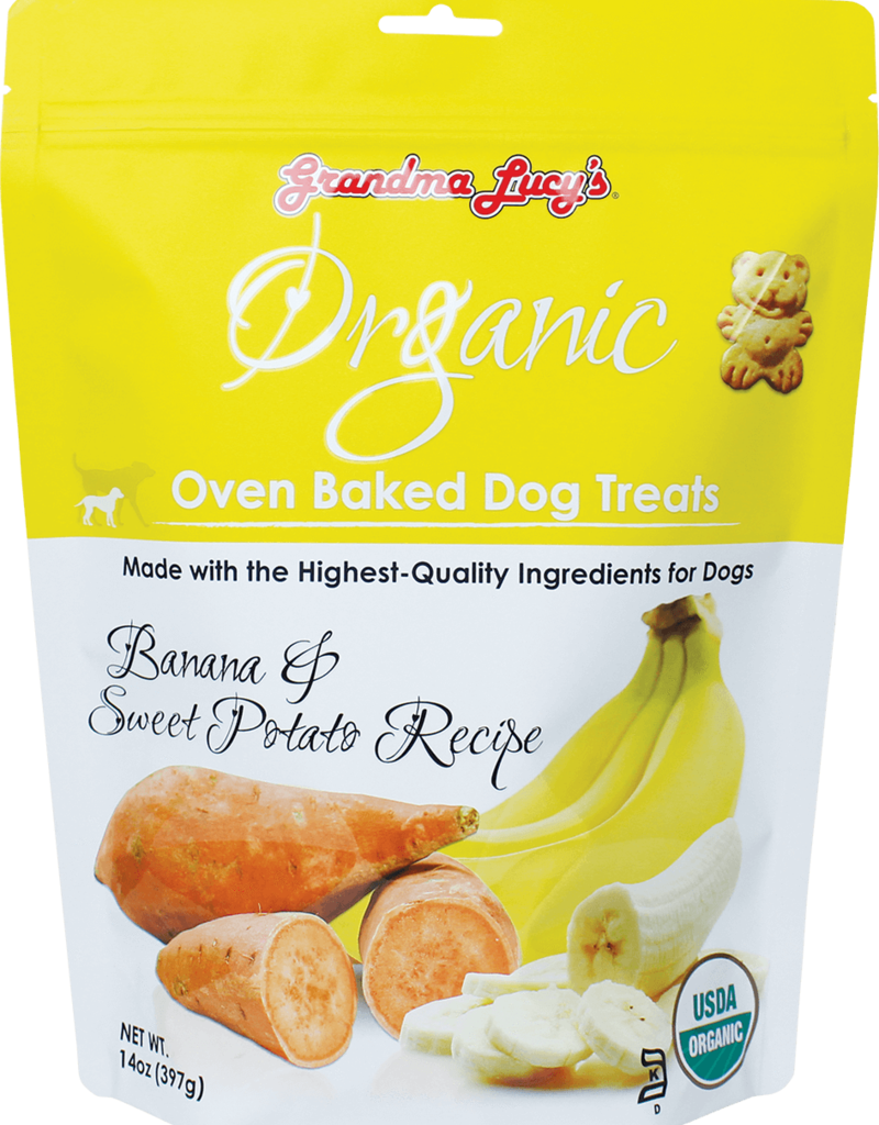 Grandma Lucy's Organic Banana & Sweet Potato Biscuit - 14oz