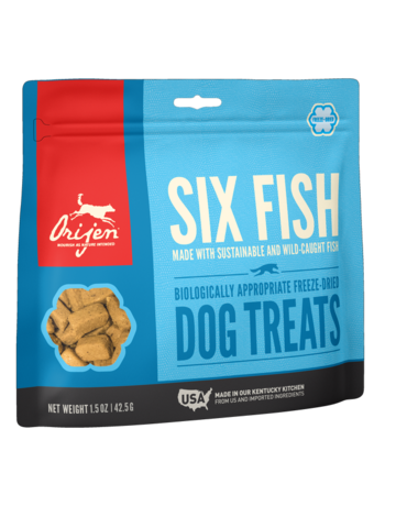 Orijen Freeze-Dried Six Fish Treats - 1.5oz