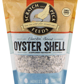 Scratch and Peck Feeds Cluckin' Good Oyster Shell - 4lb