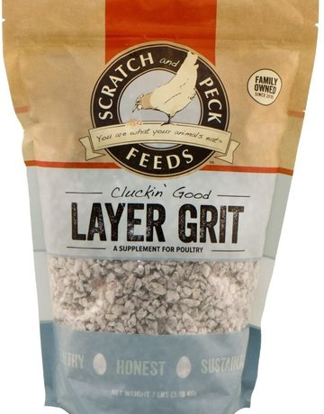 Scratch and Peck Feeds Cluckin' Good Layer Grit