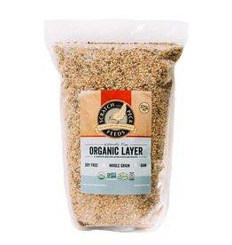 Scratch and Peck Feeds Organic Layer Feed 16% For Chickens & Ducks - 10lb