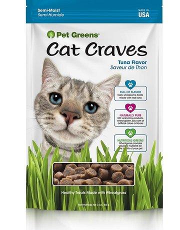 Pet Greens Feline Cat Craves Tuna Flavor