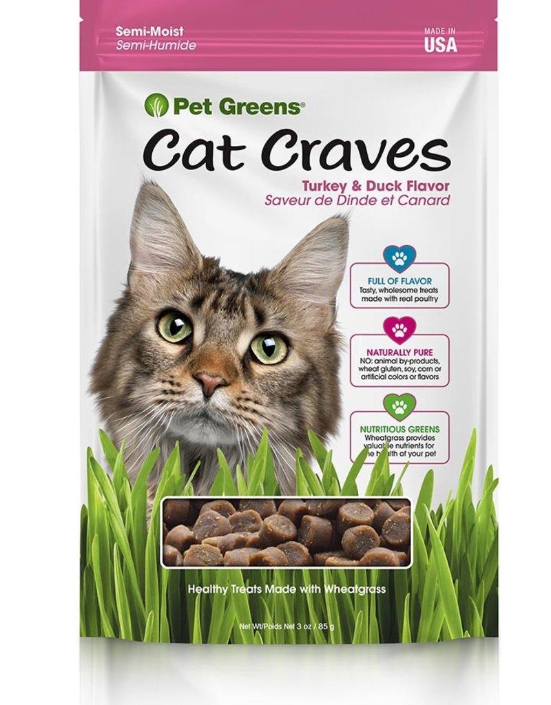 Pet Greens Feline Cat Craves Turkey & Duck Flavor